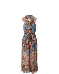 Combinaison pantalon à fleurs multicolore Zimmermann