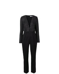Combinaison pantalon á pois noire Givenchy