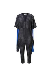Combinaison pantalon à rayures horizontales bleu marine Stella McCartney