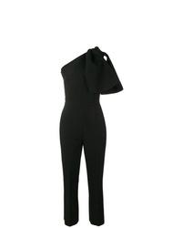 Combinaison pantalon à volants noire MSGM