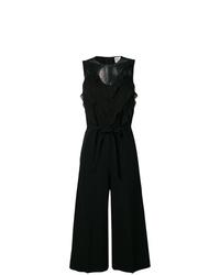 Combinaison pantalon à volants noire RED Valentino