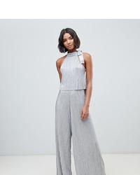 Combinaison pantalon argentée ASOS DESIGN