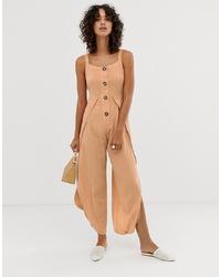 Combinaison pantalon beige ASOS DESIGN