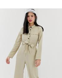 Combinaison pantalon beige Monki