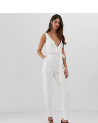 Combinaison pantalon blanche Outrageous Fortune Tall