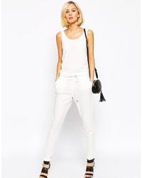 Combinaison pantalon blanche Vero Moda