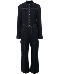 Combinaison pantalon bleu marine Stella McCartney