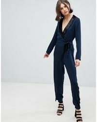 Combinaison pantalon bleu marine Vero Moda