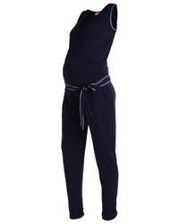 Combinaison pantalon bleue marine mint&berry