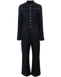 Combinaison pantalon bleue marine Stella McCartney