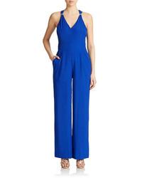Combinaison pantalon bleue