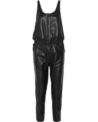 Combinaison pantalon en cuir noire R 13
