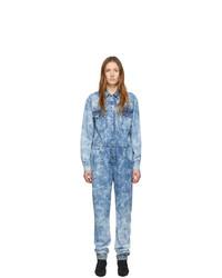 Combinaison pantalon en denim bleu clair Isabel Marant Etoile