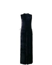 Combinaison pantalon en velours bleu marine Stella McCartney