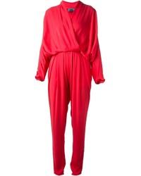 Combinaison pantalon fuchsia Lanvin