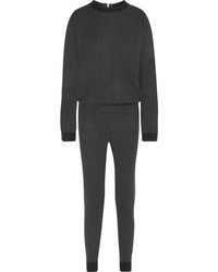 Combinaison pantalon gris foncé