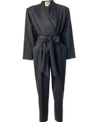 Combinaison pantalon grise foncee original 4529668