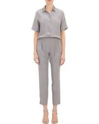 Combinaison pantalon grise