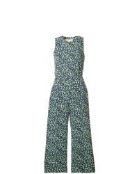 Combinaison pantalon imprimée bleue MICHAEL Michael Kors