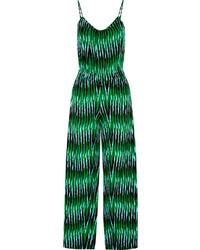 Combinaison pantalon imprimée vert foncé MICHAEL Michael Kors