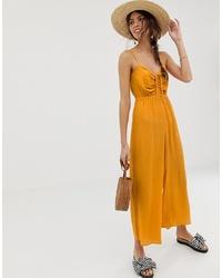 Combinaison pantalon jaune ASOS DESIGN