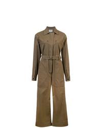 Combinaison pantalon marron Proenza Schouler