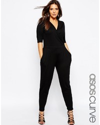 Combinaison pantalon noire Asos