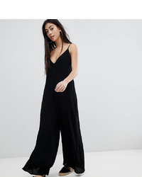 Combinaison pantalon noire Asos Petite
