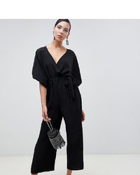 Combinaison pantalon noire Asos Tall