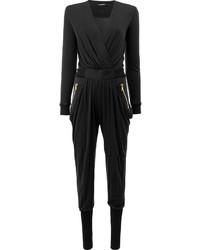 Combinaison pantalon noire Balmain