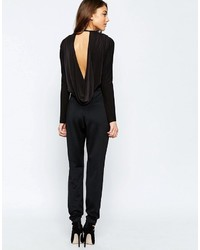 Combinaison pantalon noire