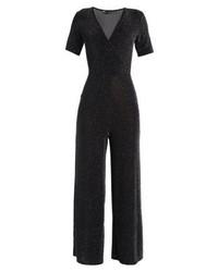 Combinaison pantalon noire Dorothy Perkins