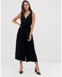 Combinaison pantalon noire French Connection