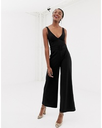 Combinaison pantalon noire New Look
