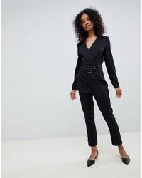 Combinaison pantalon noire UNIQUE21