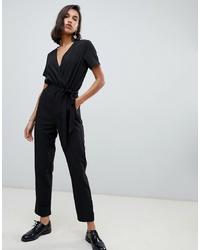 Combinaison pantalon noire Vero Moda