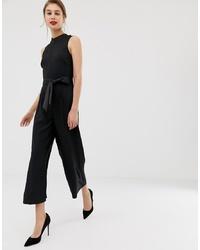Combinaison pantalon noire Warehouse