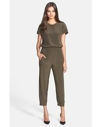 Combinaison pantalon olive