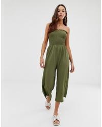Combinaison pantalon olive Miss Selfridge