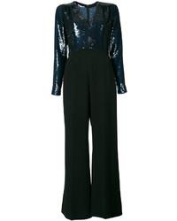 Combinaison pantalon ornée bleu marine Stella McCartney