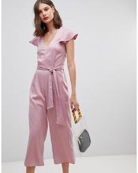 Combinaison pantalon rose Warehouse