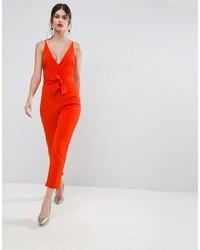 Combinaison pantalon rouge Asos