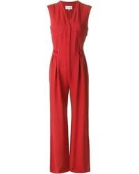 Combinaison pantalon rouge Maison Margiela