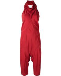 Combinaison pantalon rouge Rick Owens