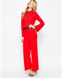 Combinaison pantalon rouge Vero Moda
