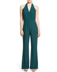 Combinaison pantalon vert foncé