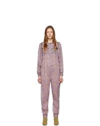 Combinaison pantalon violet clair Isabel Marant Etoile
