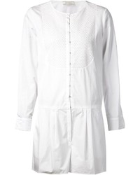 Combishort en tulle blanc Nina Ricci