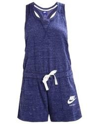 Combishort imprimé bleu marine Nike