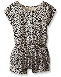 Combishort imprimé léopard marron